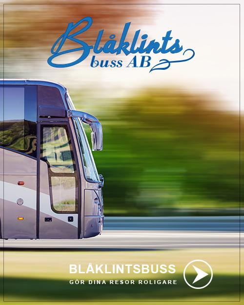 Blåklintsbuss gör dina bussresor billigare och roligare!