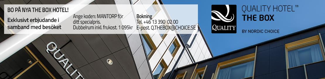 Box Hotell - liggande banner